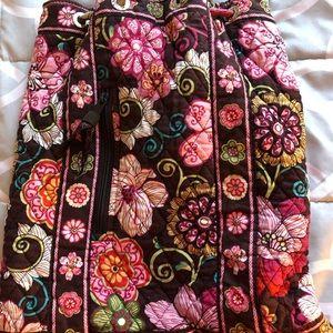 Vera Bradley draw strings backpack